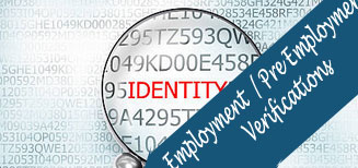 Employment (Back End) / Pre Employment Verification